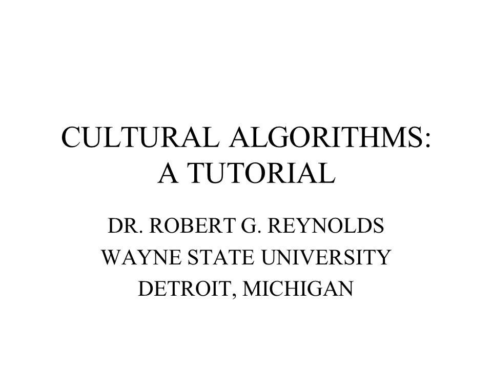 Designing Cultural Algorithms: Embedding a Weak Method Use Genetic Algorithms as an example population model.