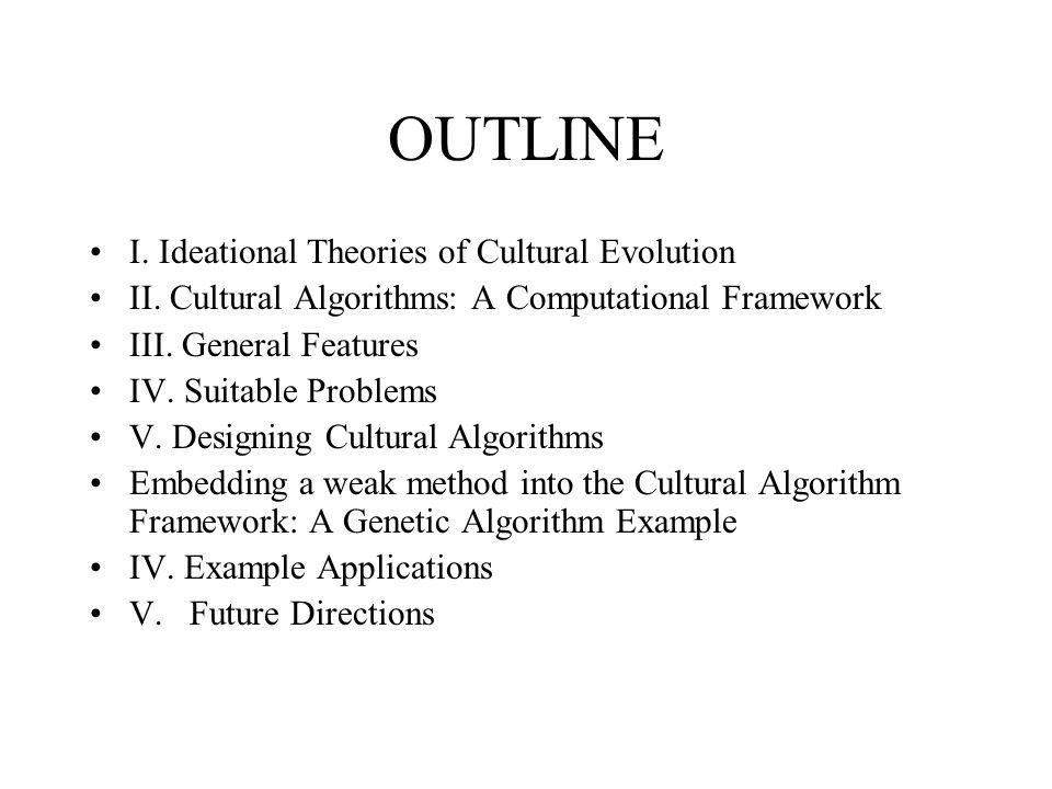 The Genetic Algorithm(Davis,1991) 1.Initialize a population of chromosomes 2.