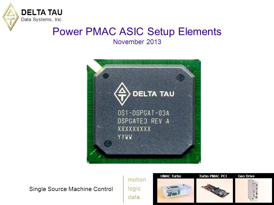 DELTA TAU Data Systems, Inc.