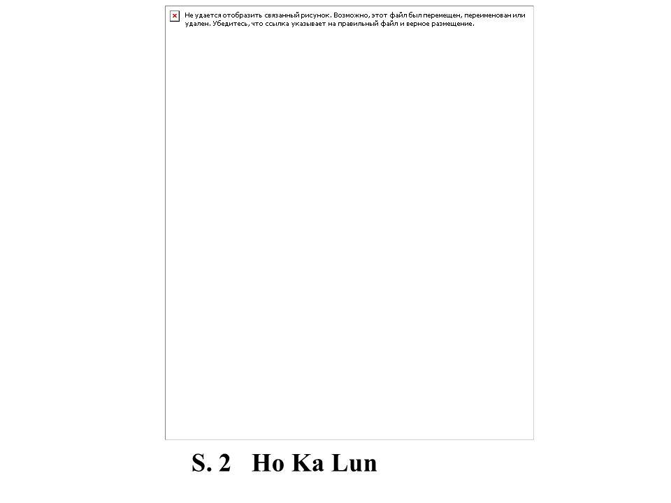 S. 2 Ho Ka Lun