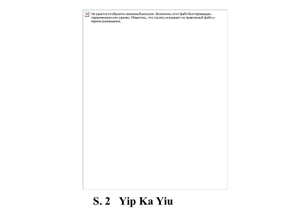 S. 2 Yip Ka Yiu