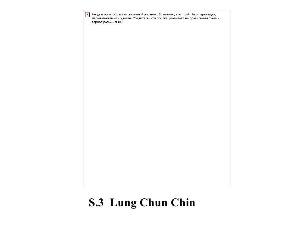 S.3 Lung Chun Chin