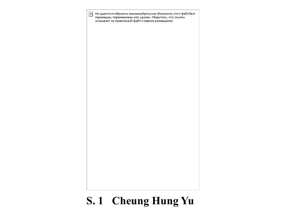 S. 1 Cheung Hung Yu