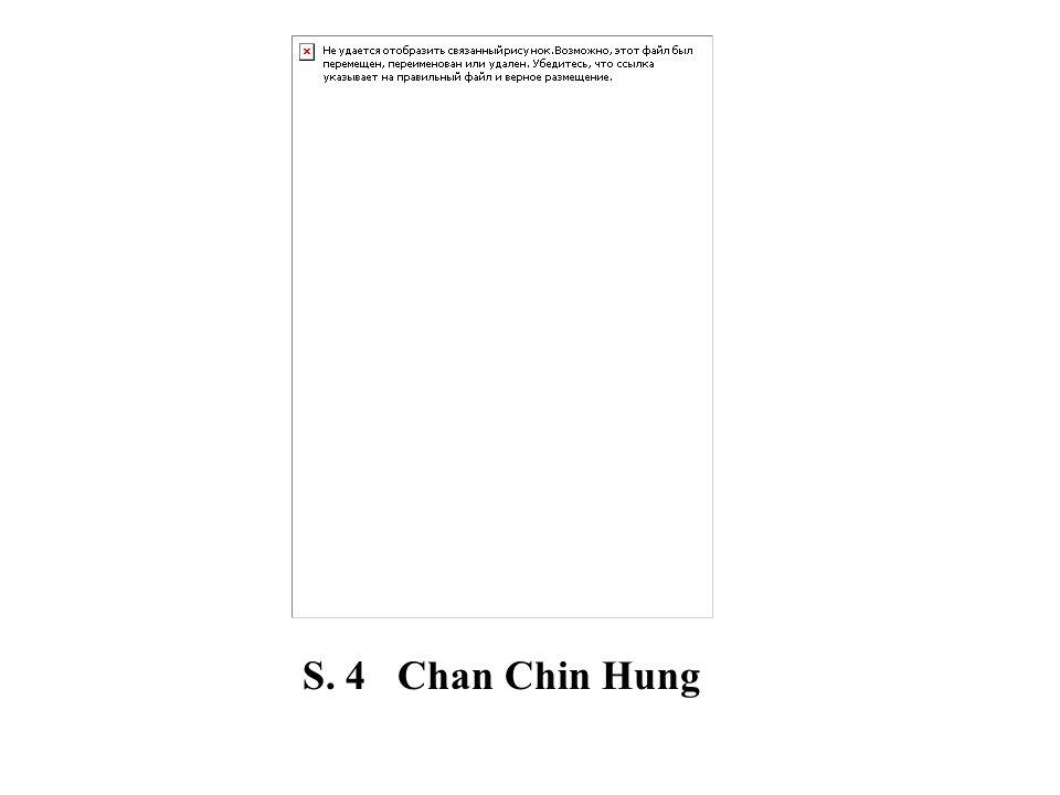 S. 4 Chan Chin Hung