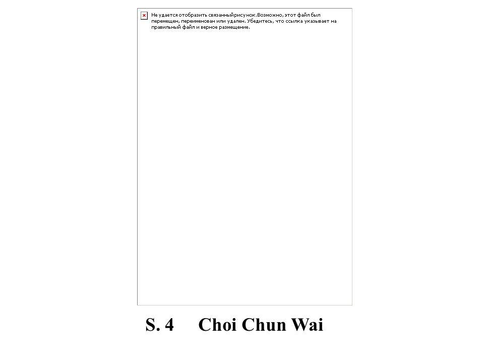 S. 4 Choi Chun Wai