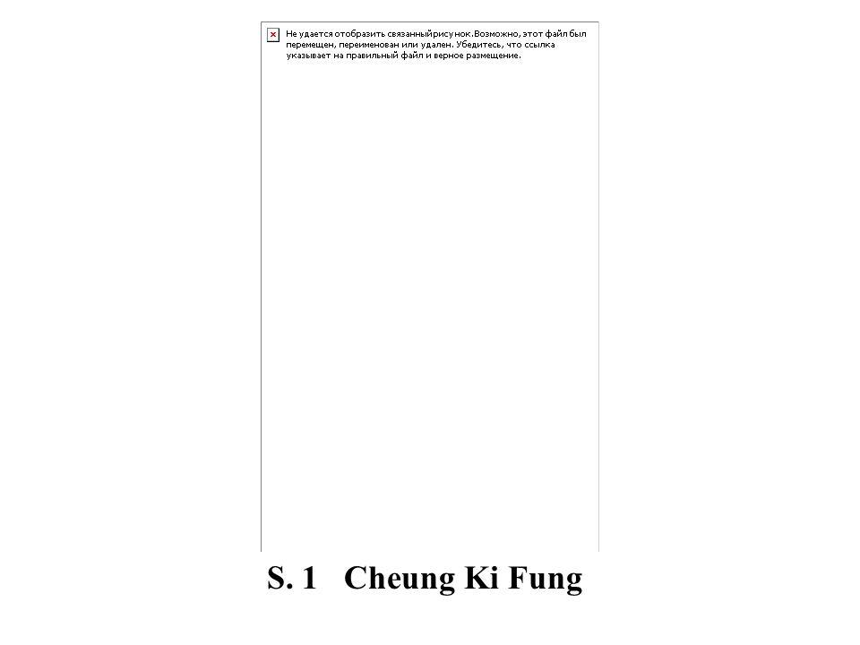 S. 1 Cheung Ki Fung