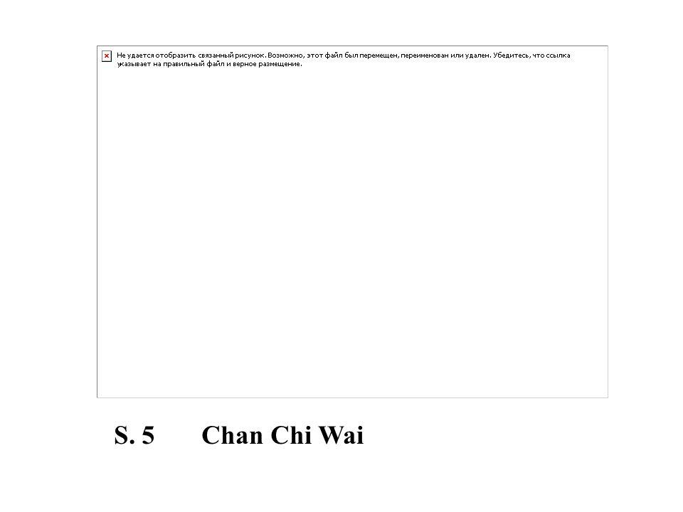 S. 5 Chan Chi Wai