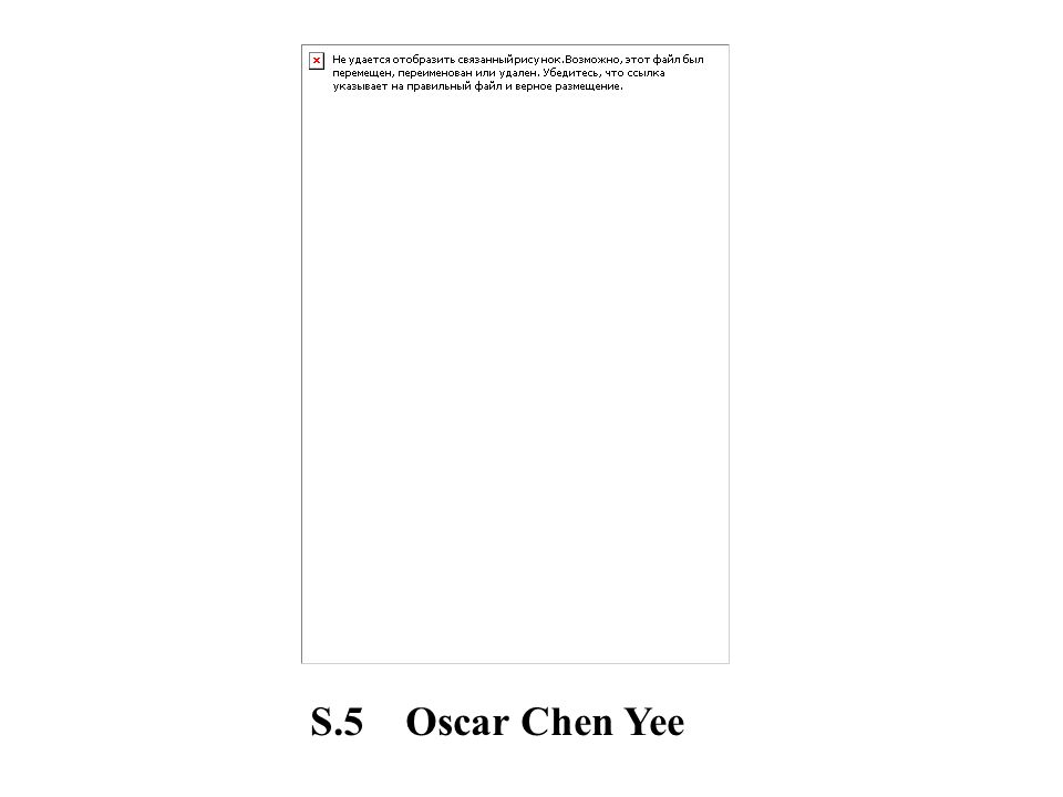 S.5 Oscar Chen Yee