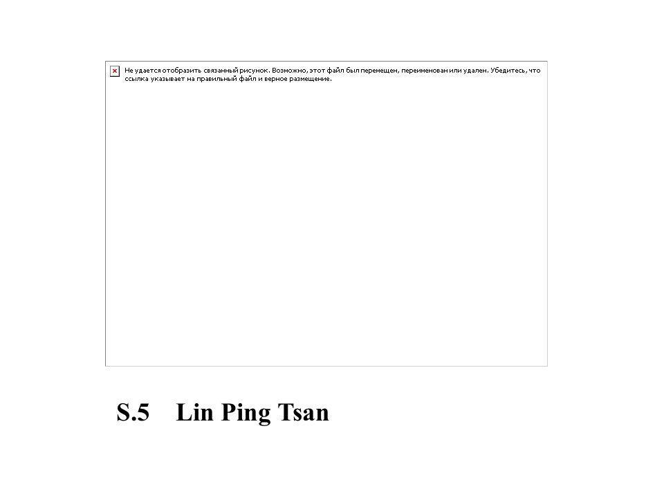 S.5 Lin Ping Tsan