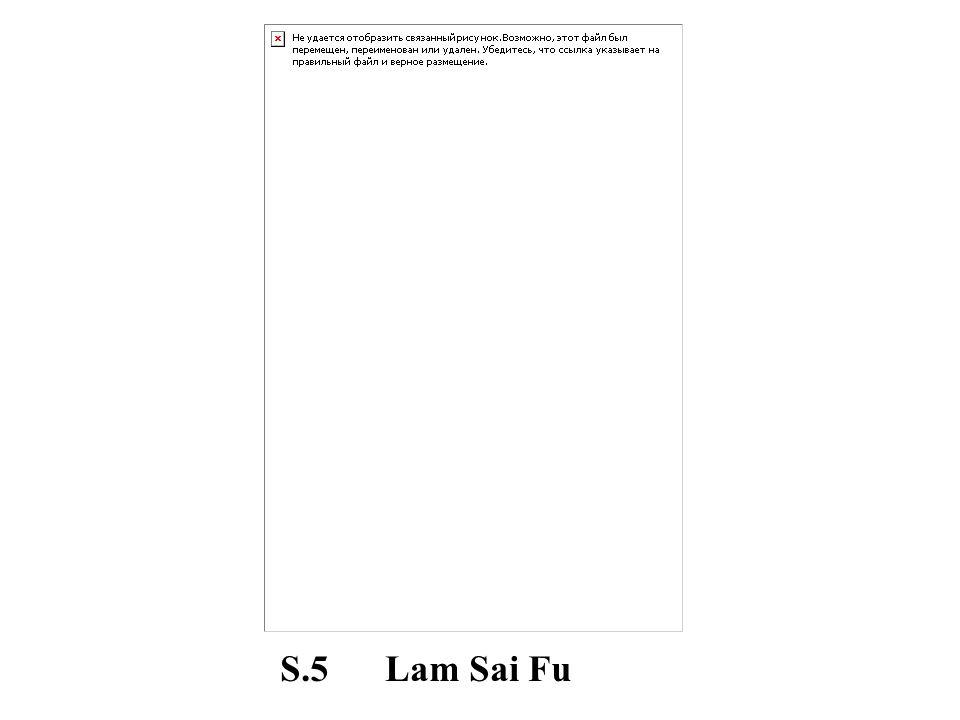 S.5 Lam Sai Fu