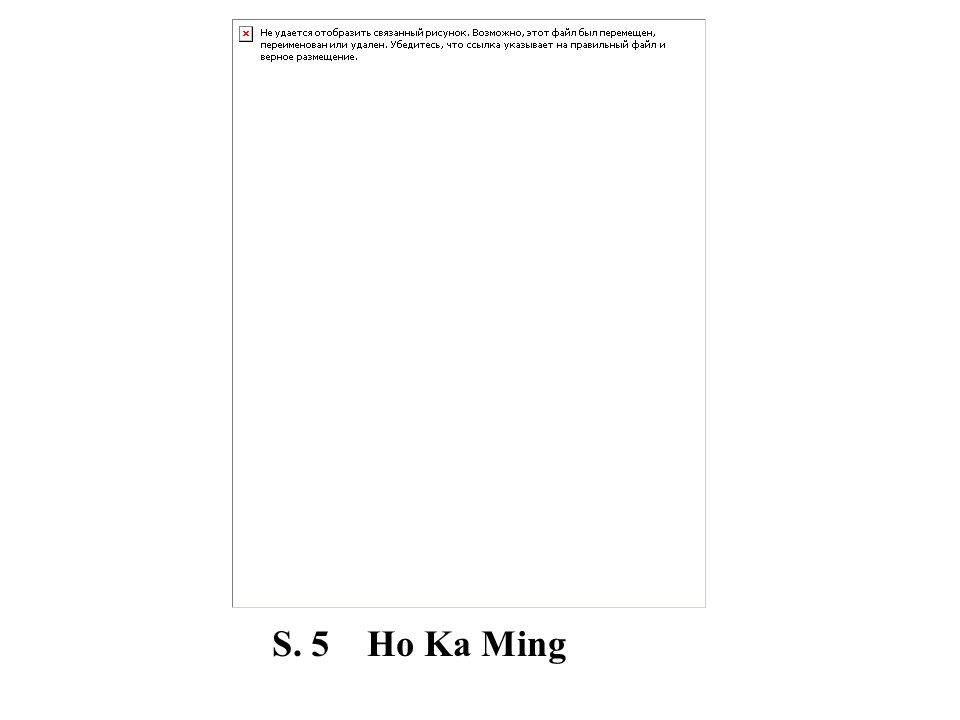 S. 5 Ho Ka Ming