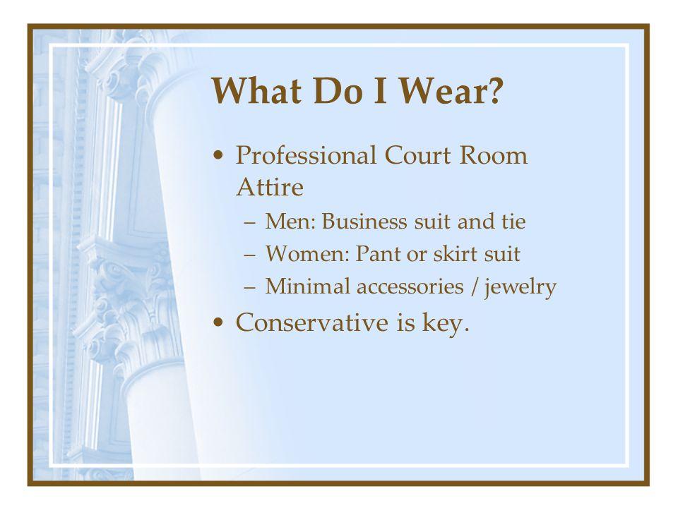 What Do I Wear.