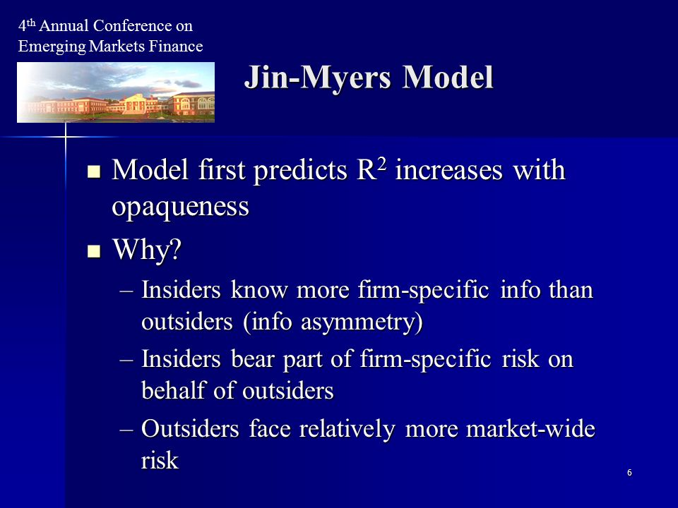 7 Model second predicts that crash frequency increases with opaqueness Model second predicts that crash frequency increases with opaqueness Why.