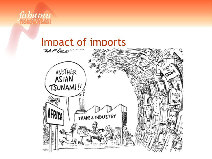 Impact of imports