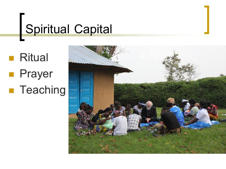 Spiritual Capital Ritual Prayer Teaching