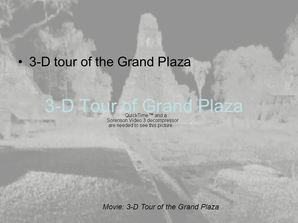 3-D Tour of Grand Plaza 3-D tour of the Grand Plaza Movie: 3-D Tour of the Grand Plaza