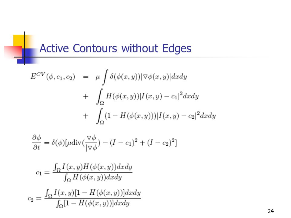 24 Active Contours without Edges