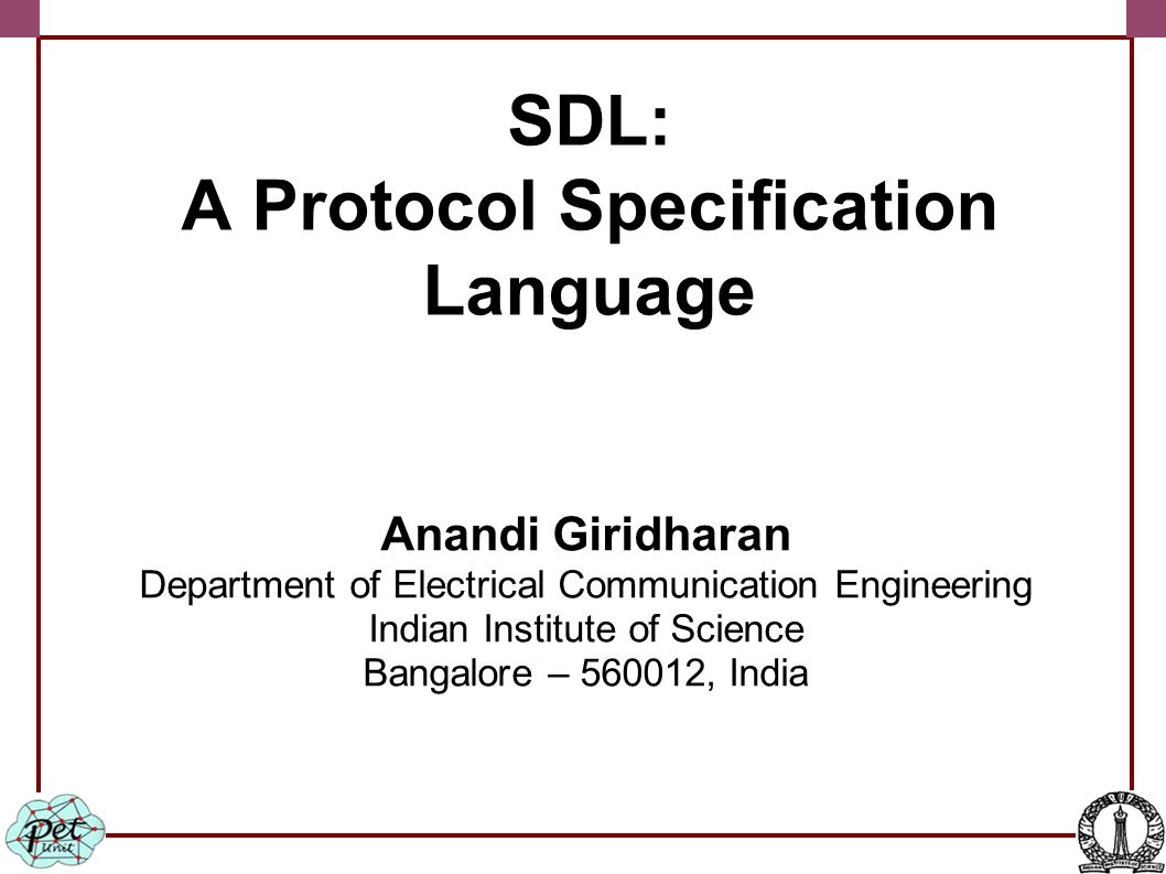 The sender protocol entity Variable declarations: d is the data to be transmitted, which is declared as octet-string (string of length 8 bits), p is declared as a pdu type (contains type of PDU and the data).
