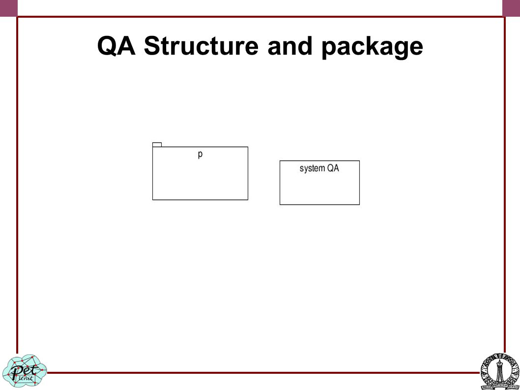 QA Structure and package