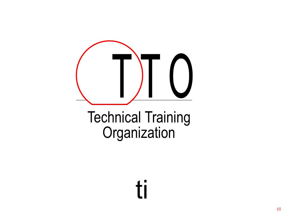 ti Technical Training Organization 65