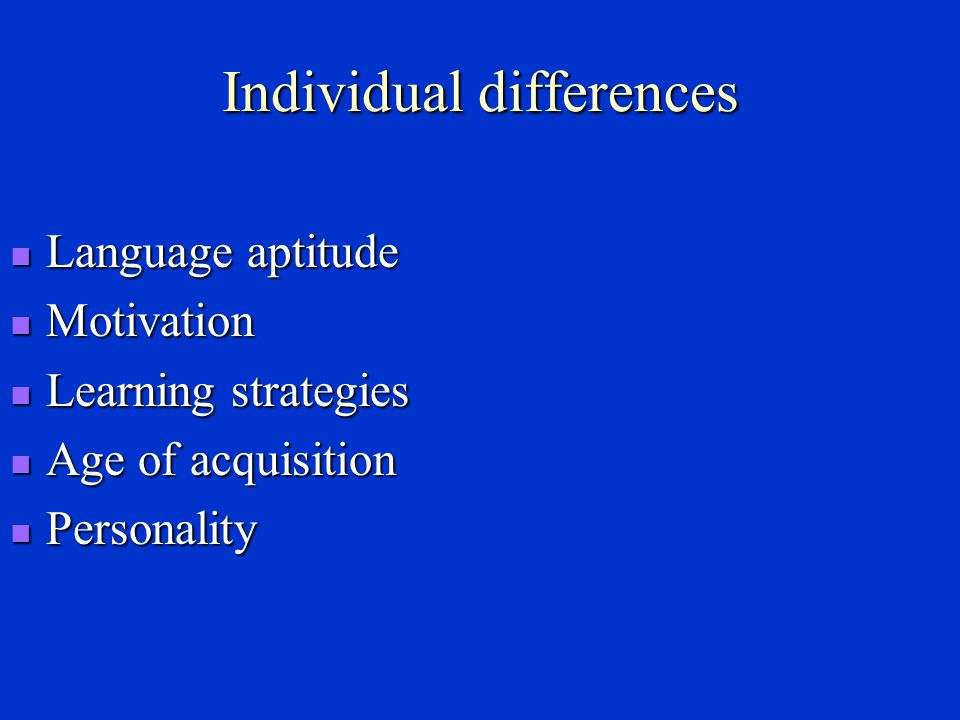 Krashen ' s Input Hypothesis Krashen make a distinction between acquisition & learning.
