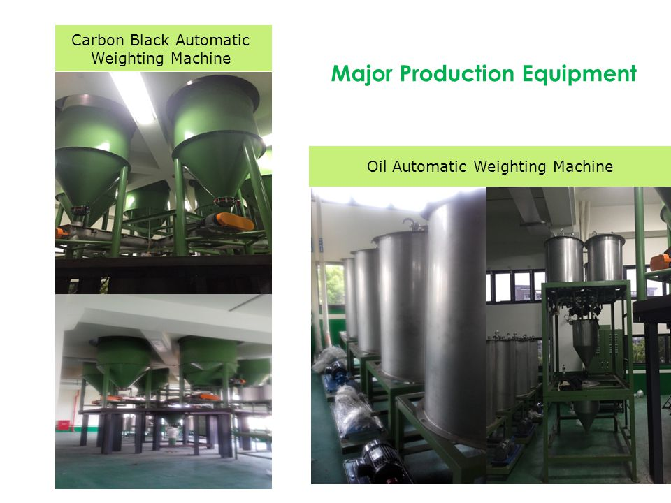 Oil Automatic Weighting Machine Major Production Equipment Carbon Black Automatic Weighting Machine