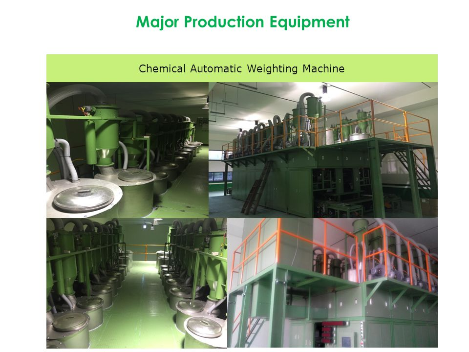 Chemical Automatic Weighting Machine Major Production Equipment