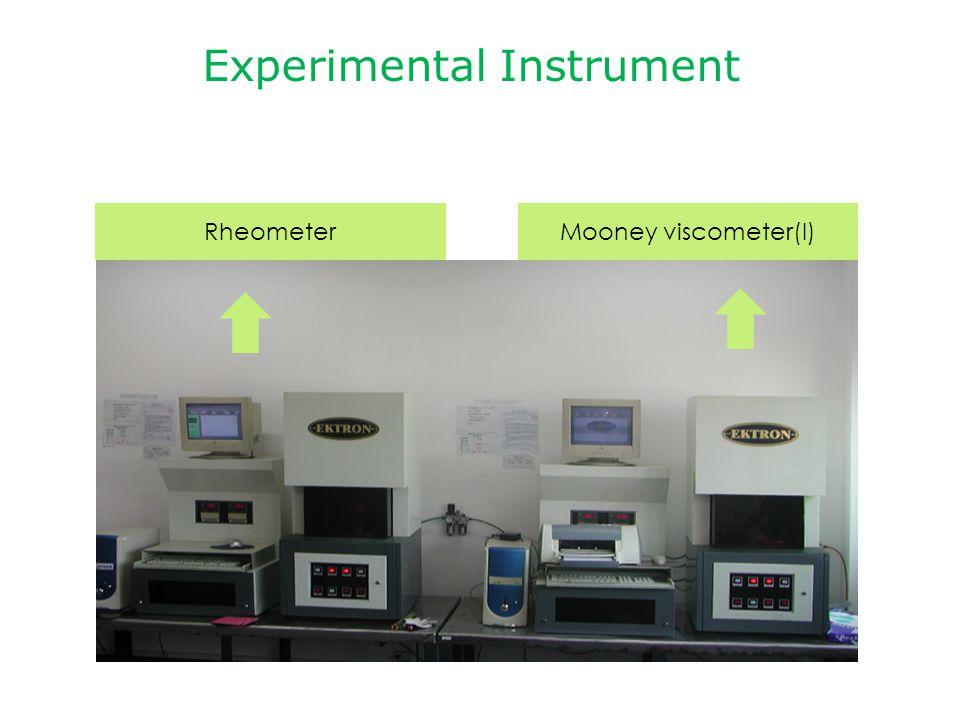 Experimental Instrument RheometerMooney viscometer(I)