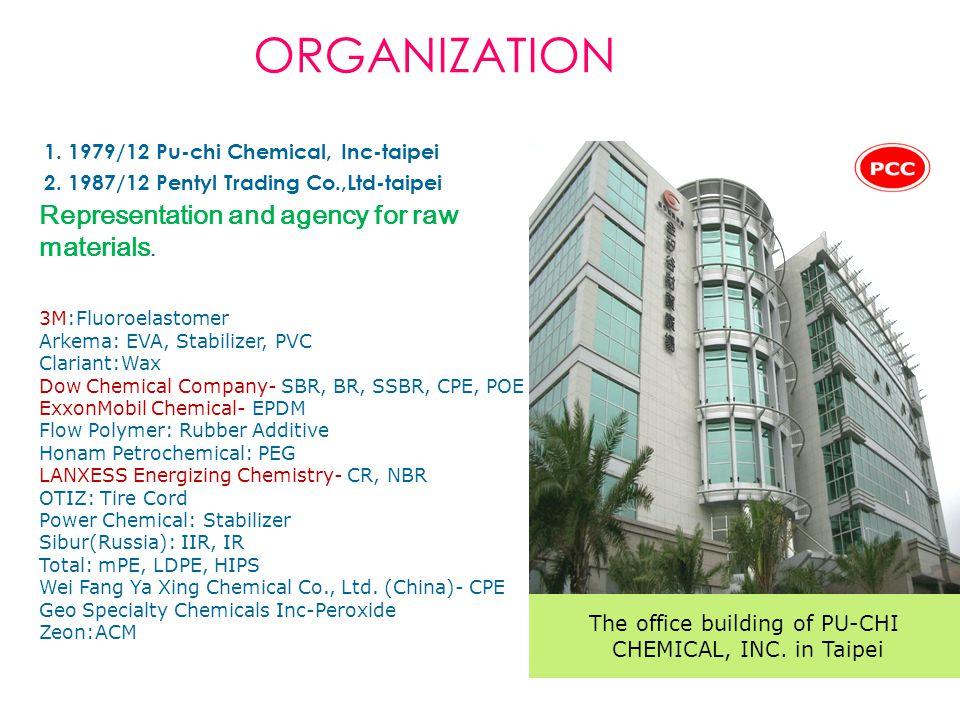 3.1993/11 Oriental Star Chemical, Inc – Taichung 4.