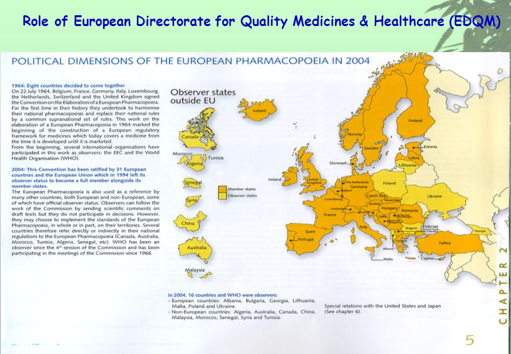 ©JCTCM-Professor Kelvin Chan PhD DSc FSB FCP FRPharmS FRSM© Role of European Directorate for Quality Medicines & Healthcare (EDQM)