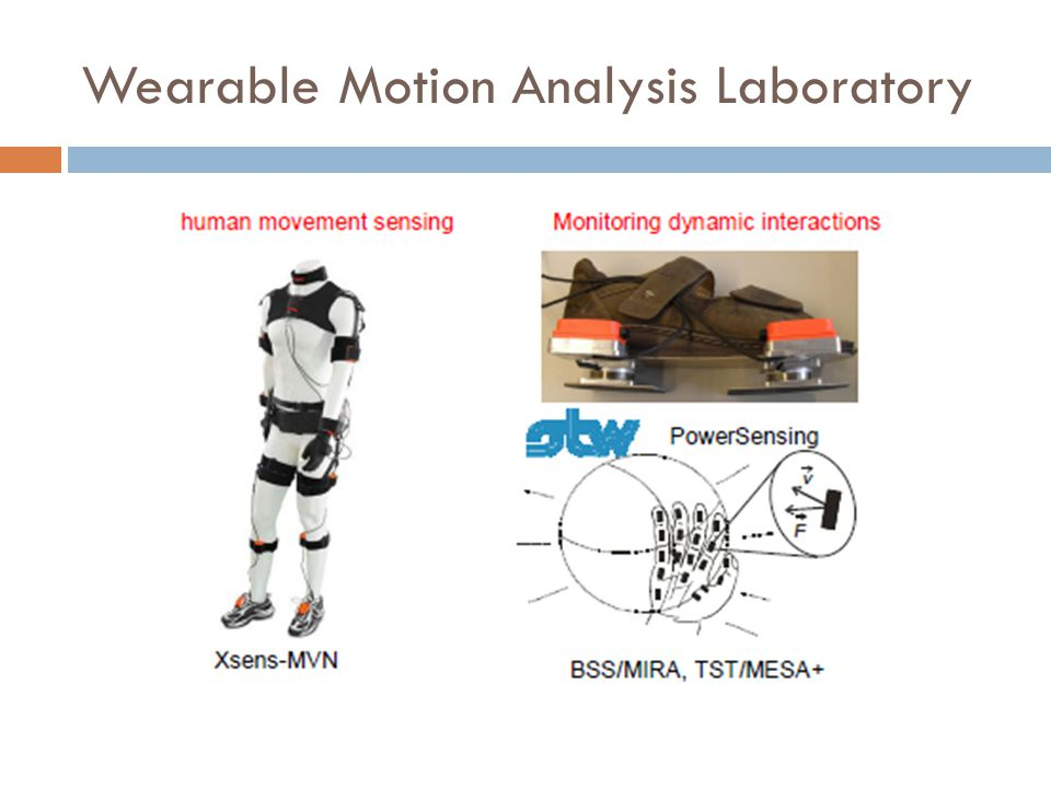 Wearable Motion Analysis Laboratory