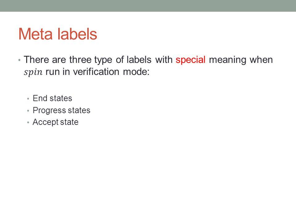 Meta labels