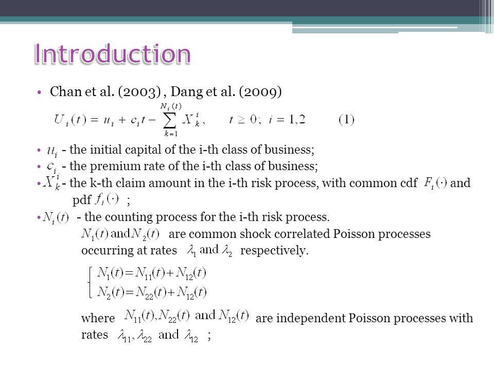 Chan et al. (2003), Dang et al.