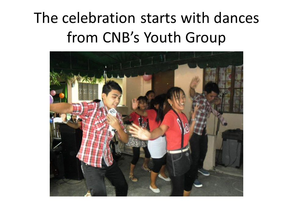 The celebration starts with dances from CNB's Youth Group