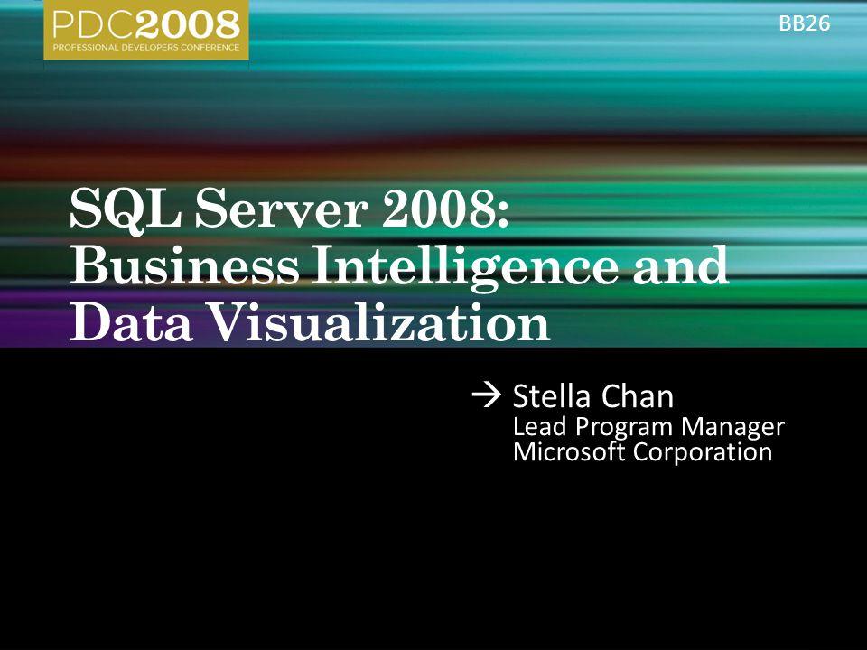  Stella Chan Lead Program Manager Microsoft Corporation BB26
