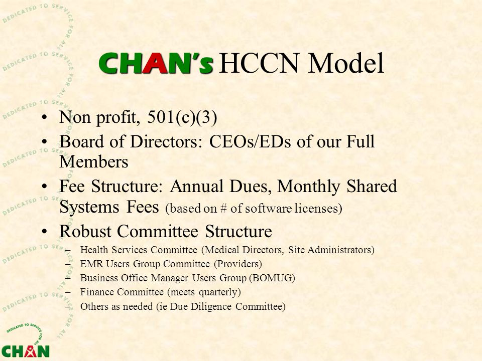 Contact Information Kirsten Platte, Executive Director kplatte@chan-nh.org 603-292-7205