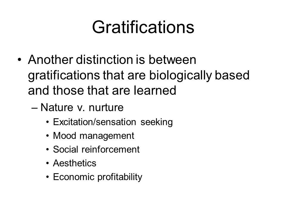 Elements of sensation Novelty Intensity Complexity