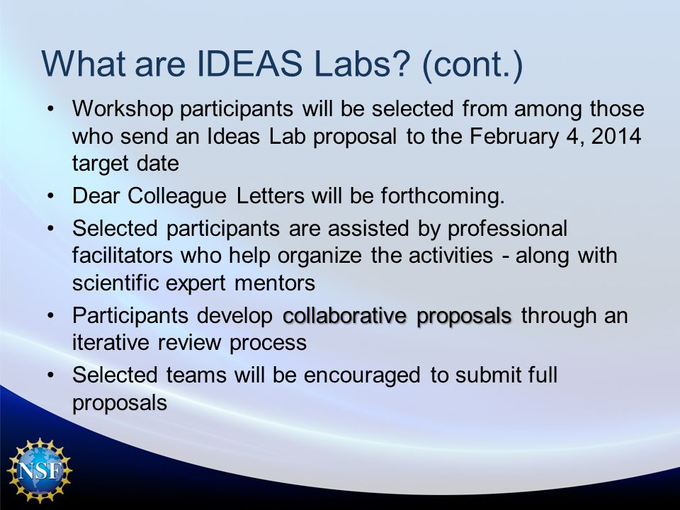 What are IDEAS Labs.