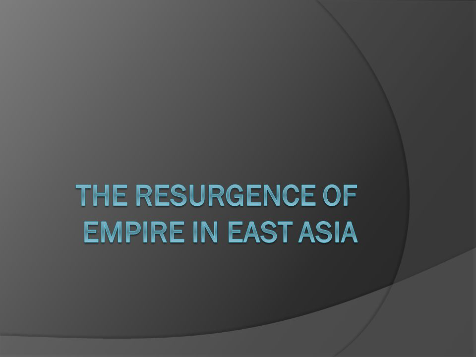 Restoration of Centralized Imperial Rule in China  After the Han dynasty collapsed in 220 C.E., China spent years in conflict.
