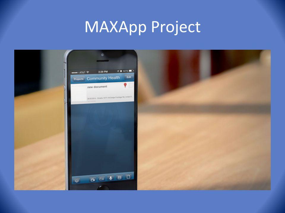 MAXApp Project