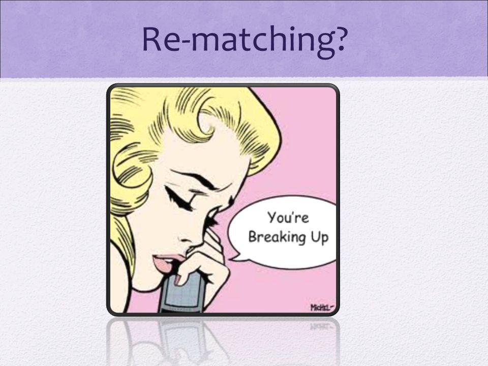 Re-matching
