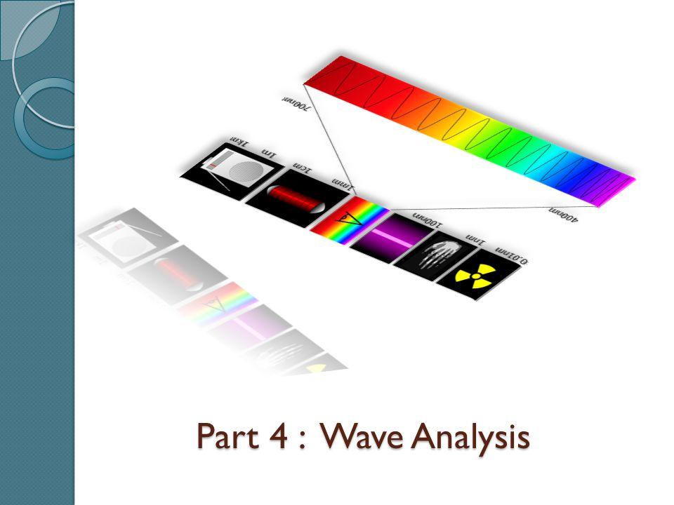 Part 4 : Wave Analysis