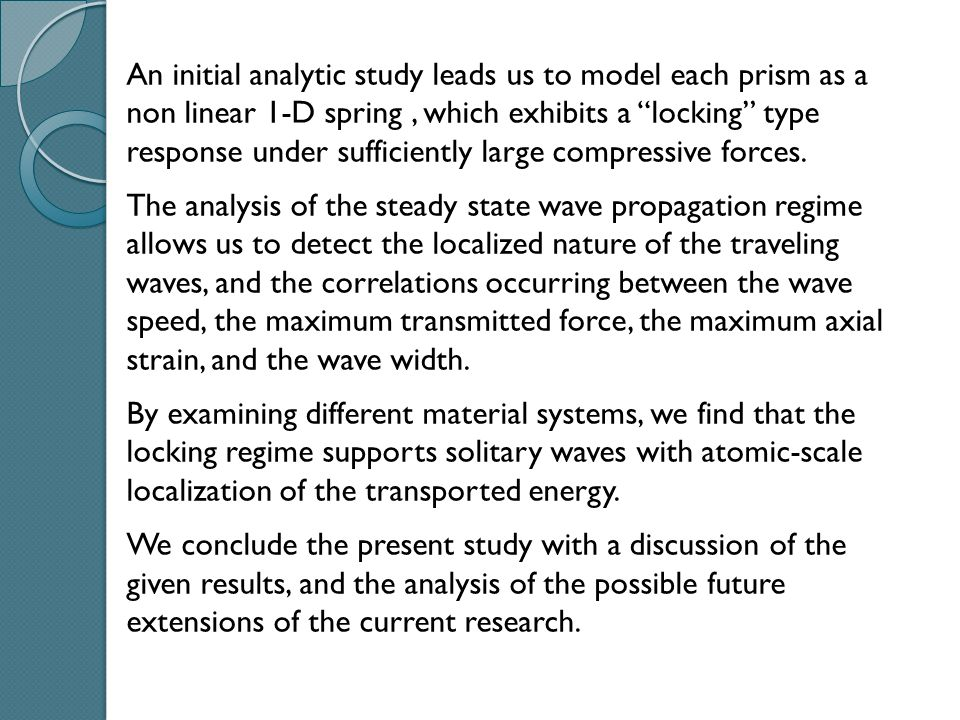 Where : 2.6 Force vs axial strain relationship Axial strain referred to the equilibrium height (positive if compressive) (5) Upon substituting (5) into (4) we obtain the F vs relationship.