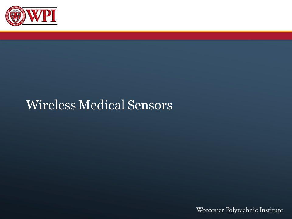 Wireless Medical Sensors