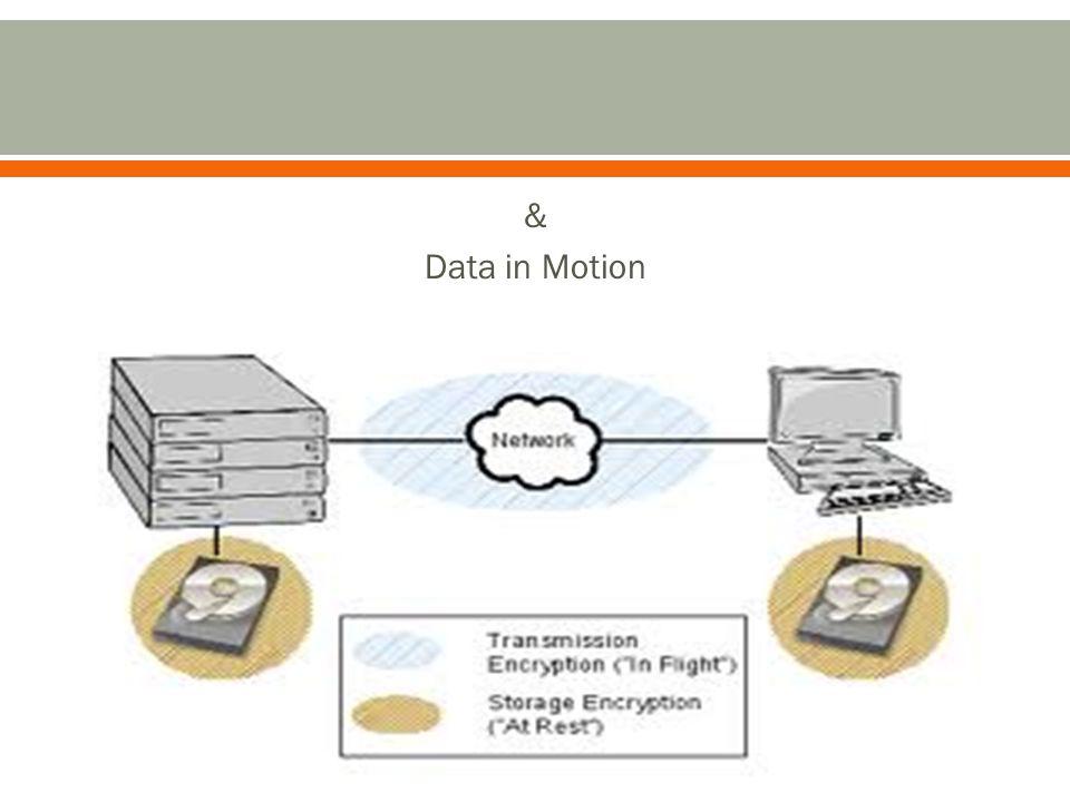 & Data in Motion