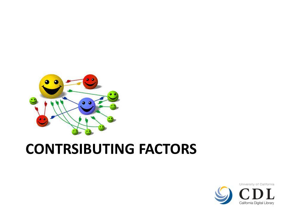 CONTRSIBUTING FACTORS