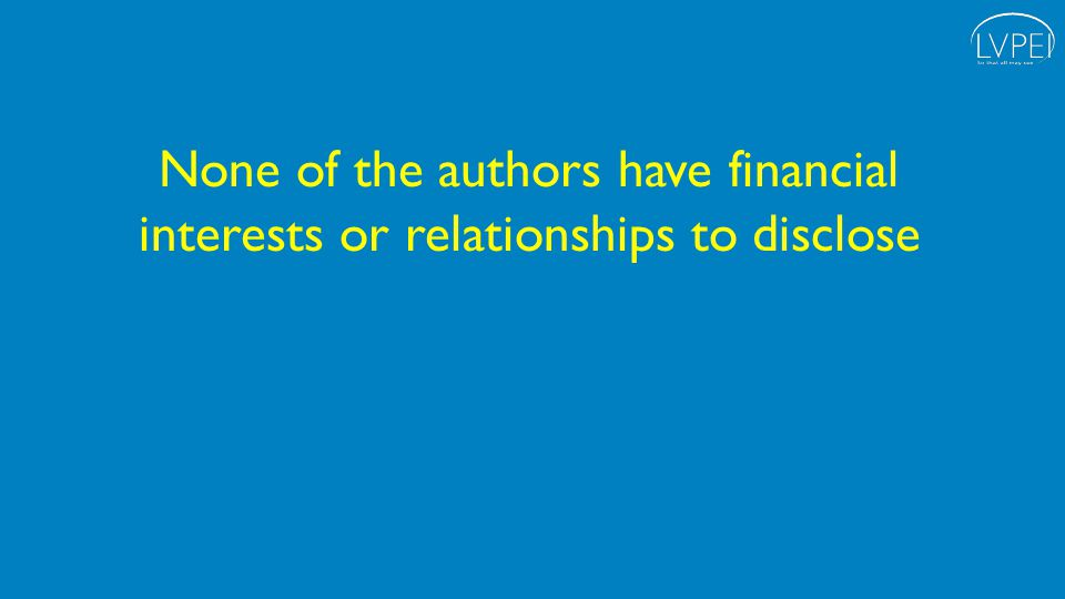 None of the authors have financial interests or relationships to disclose