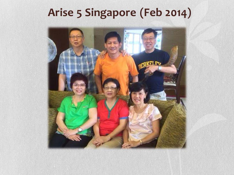 Arise 5 Singapore (Feb 2014)