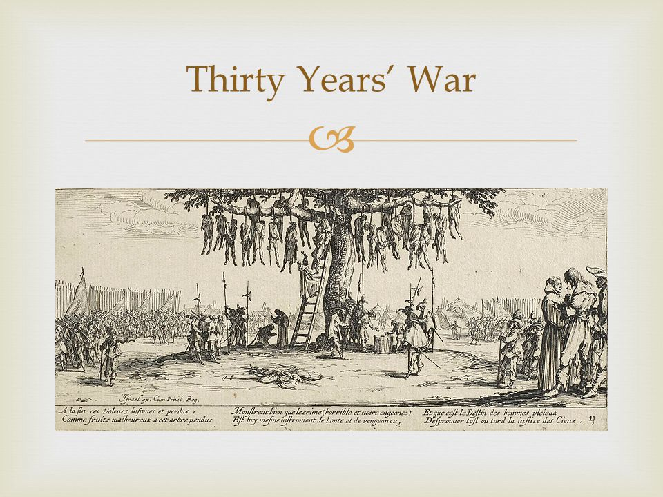  Thirty Years' War