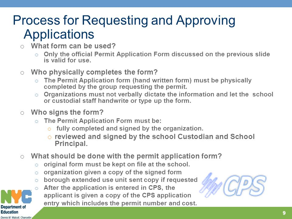 10 o School Reviews for compliance with CR D-180 and confirms receipt of all applicable documentation Process for Approving Applications 10 Double Click on the document to view the form